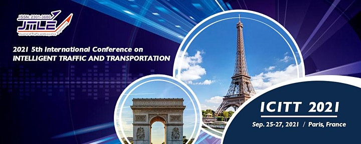 5th Intl. Conference on Intelligent Traffic and Transportation (ICITT 2021) image