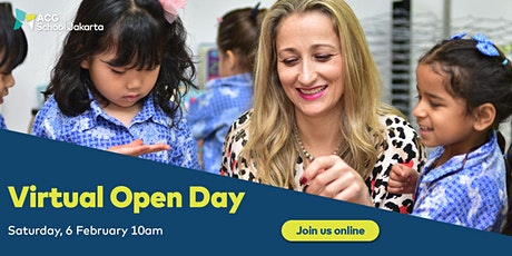 ACG School Jakarta Virtual Open Day: Kindergarten and Primary  tickets