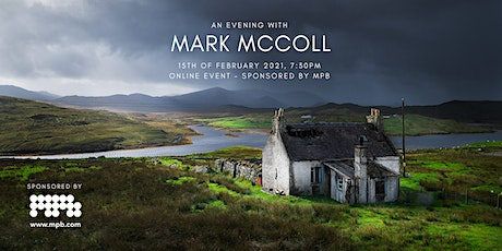 View Finders Live: an Evening with Mark McColl, sponsored by MPB tickets