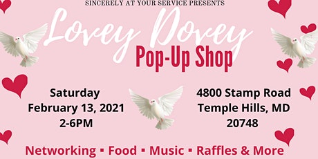 Lovey Dovey Pop-Up Shop tickets