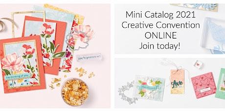 Mini Catalogue 2021 Creative Convention Online tickets