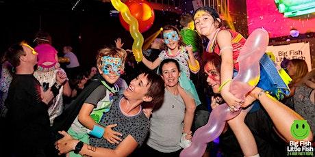 HOLDING DATE Big Fish Little Fish Edinburgh family rave  - DJ TBC tickets