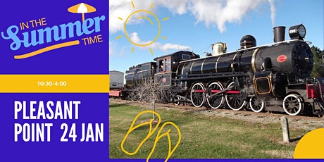 Summer Holidays At Pleasant Point Rail tickets