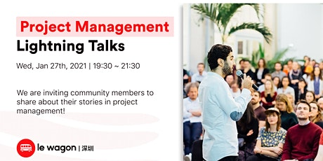 Le Wagon Project Management Lightning Talk tickets