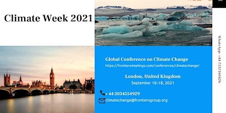 Climate Week 2021 London UK tickets