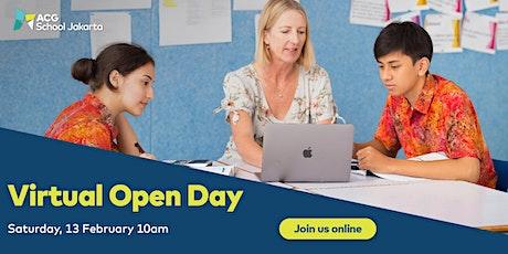 ACG School Jakarta Virtual Open Day: Secondary tickets