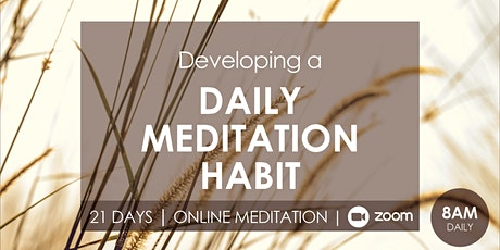 21 Days Online Meditation Course [New course every month] tickets