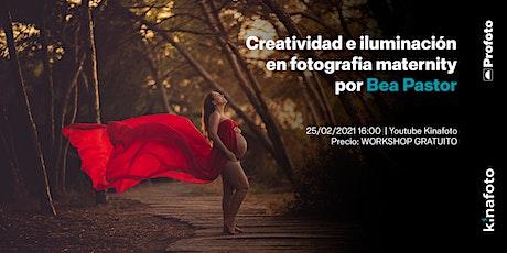 Workshop Bea Pastor: Creatividad e iluminación. Maternidad en estudio boletos