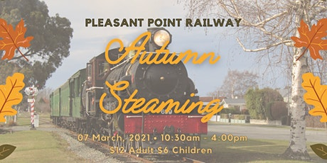 Autumn Steaming at Pleasant Point Rail tickets