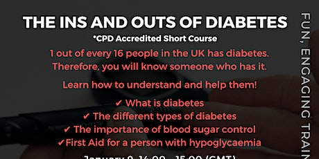 The Ins and Outs of Diabetes tickets