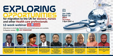 Opportunities for Nurses and Allied Health Professionals in the UK tickets