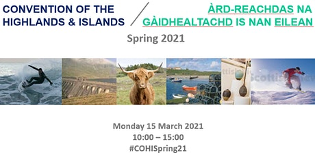 Convention of the Highlands and Islands tickets