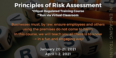 QA Level 2 Award in Principles of Risk Assessment (RQF) tickets