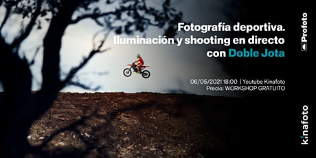 Workshop Doble Jota: Fotografía deportiva. Iluminación + shooting boletos