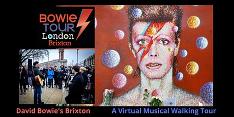 David Bowie's Brixton - A Virtual Musical Walking Tour ingressos