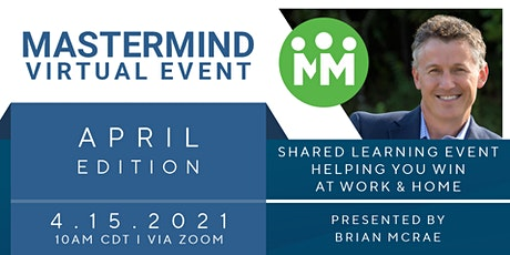 Mastermind Project—Virtual Event: April 2021 tickets