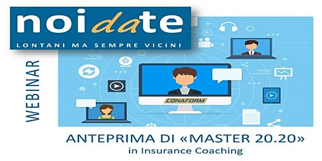 "Anteprima di ""Master 20.20"" in Insurance Coaching tickets"
