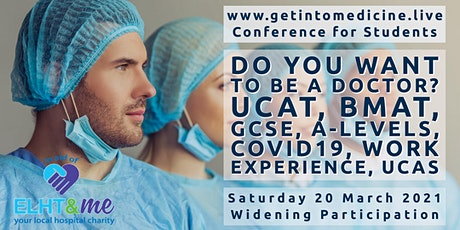How To Get Into Medicine Live 2021 | Free Conference for Students in the UK tickets