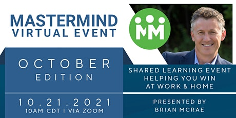 Mastermind Project—Virtual Event: October 2021 tickets