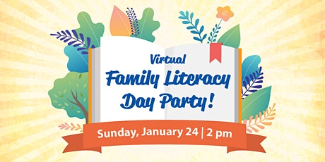 Virtual Family Literacy Day Party! tickets