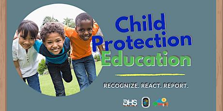 Identificando y Reportando El Abuso a los Menores en un Espacio Virtual tickets
