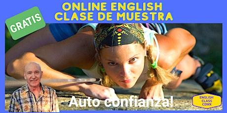 Free Online English Class: De Muestra tickets