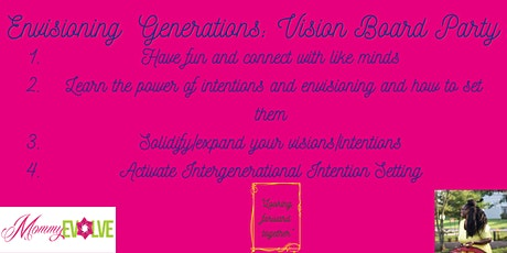 Envision Generations - Intentions Setting Party tickets