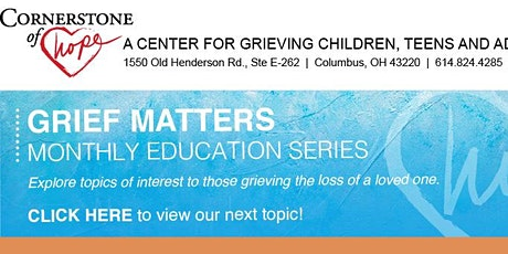 Grief Matters: Introduction to Walking Meditation tickets