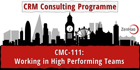 CMC-111: Working in High Performing Teams (Summer 2021) tickets