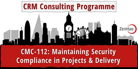 CMC-112: Security Compliance in Projects & Delivery (Summer 2021) entradas