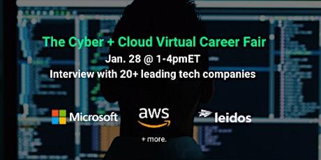 Cyber & Cloud Virtual Career Fair tickets
