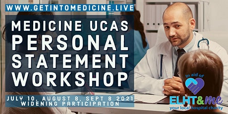 Medicine  UCAS Personal Statement Workshop | Course for Students in the UK tickets
