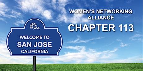 Women's Networking Alliance Ch. 113 Meeting (Rose Garden, SJ, CA) biglietti