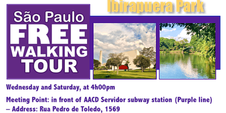 SP Free Walking Tour - IBIRAPUERA PARK (English) ingressos