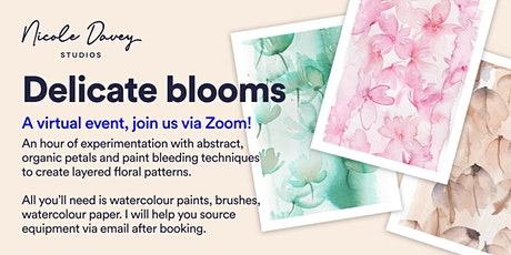 Delicate Blooms: A watercolour workshop tickets
