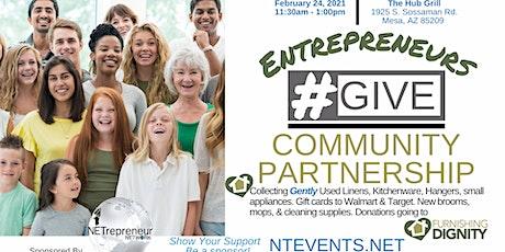 Entrepreneurs #GIVE Community Partnership tickets