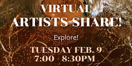 February Artists Share! tickets