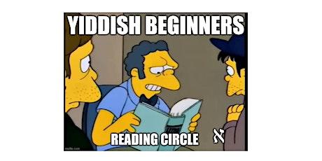 Yiddish Beginners Reading Circle tickets