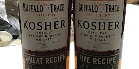 Buffalo Trace Kosher Rye Bourbon & Kosher Wheat Bourbon Tasting tickets