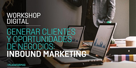Workshop Internacional generar clientes y oportunidades de negocios tickets