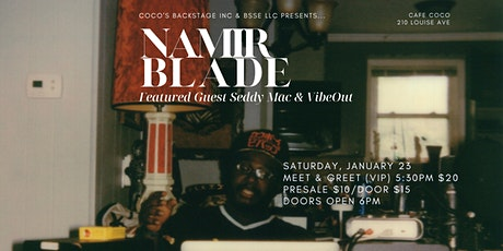 Namir Blade at Cafe Coco tickets