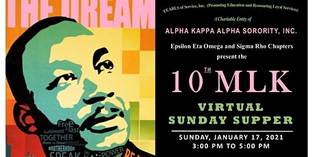 10th Annual MLK VIRTUAL Sunday Supper tickets