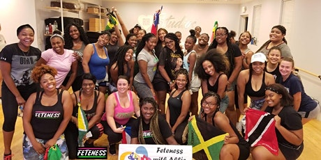 FETENESS™ Caribbean Dance Fitness Class (Virtual) tickets