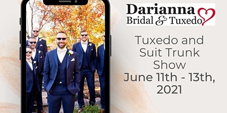 Wedding Tuxedo and Suit Trunk Show tickets