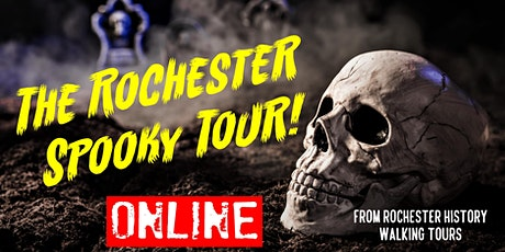Rochester Spooky Tour! Ghosts, Murders & Secrets in a quiet English town tickets