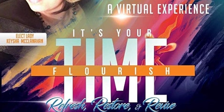 It's Time to Flourish  Refresh, Restore, Revive Virtual Experience tickets