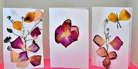 Jr. Garden Club-  Pressed Flower Cards tickets