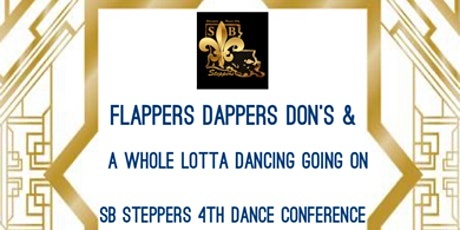 SB Steppers Flappers & Dapper Dons 4th Dance Confe tickets