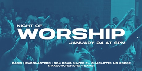 Nikao Church Night of Worship tickets