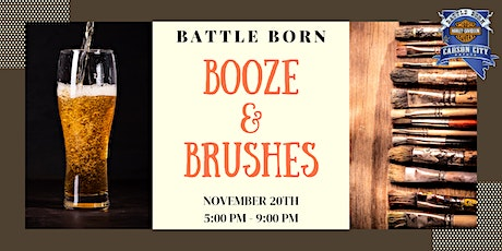 Battle Born Harley-Davidson's Annual Fall Booze and Brushes tickets